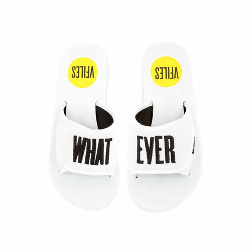 [VFILES] WHITE WHATEVER SLIDES