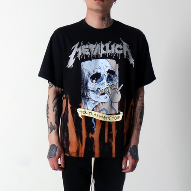 [$ SHOP SALE] [VINTAGE WEAR LA] METALLICA SOIRE TEE WITH TOUR DATES ON BACK