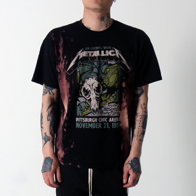 [$ SHOP SALE] [VINTAGE WEAR LA] METALLICA PITTSBURGH ARENA TOUR TEE