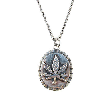 [AGINGCCC] 130# 92.5 CANNABIS NECKLACE