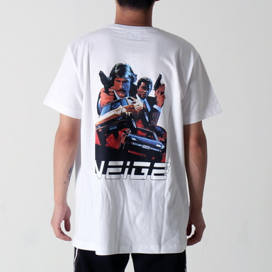 [$ SHOP SALE] [NEIGE] COPS TEE WHITE