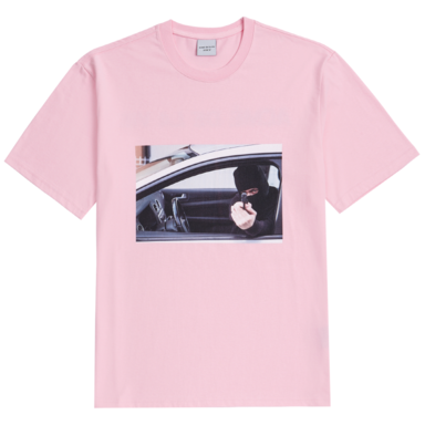[ACME DE LAVIE] ADLV SHORT SLEEVE T-SHIRT ROBBER PINK