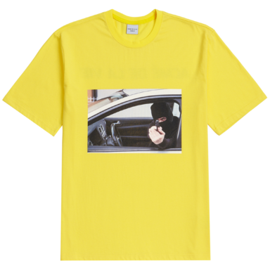 [ACME DE LAVIE] ADLV SHORT SLEEVE T-SHIRT ROBBER YELLOW
