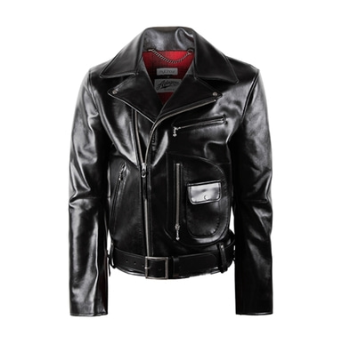 [18 HOUR] 1# DOUBLE RIDER JACKET-COW HIDE