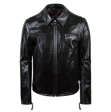 [18 HOUR] 4# SINGLE RIDER JACKET-COW HIDE