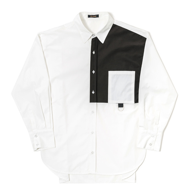 COMBINE OVER SHIRT (WHITE)