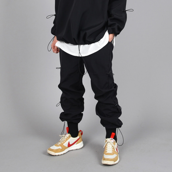 STOPPER JOGGER PANTS BLACK