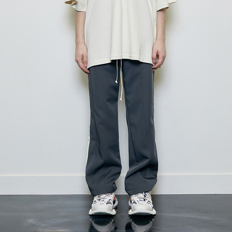 WIDE PANTS (GREY)